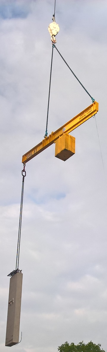 Standard Spreader beams - Lifting beams - Sale or Hire